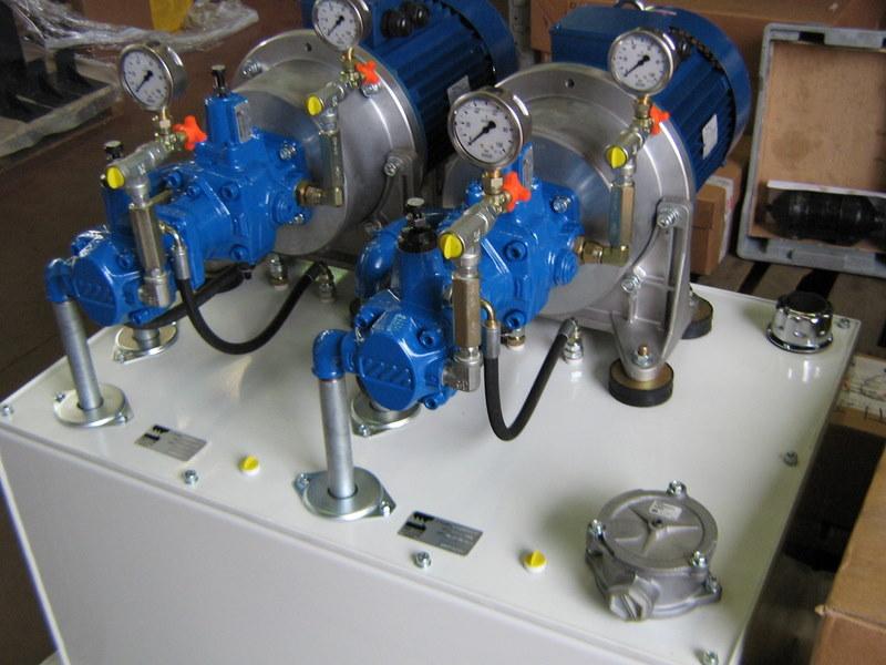 impianto oleodinamico mercom