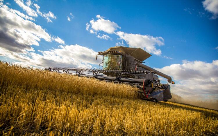 Macchine agricole_Mietitrebbiatrice
