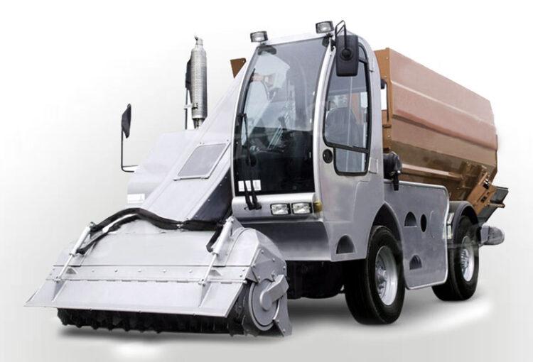 Macchine agricole_Trattore - Carro miscelatore